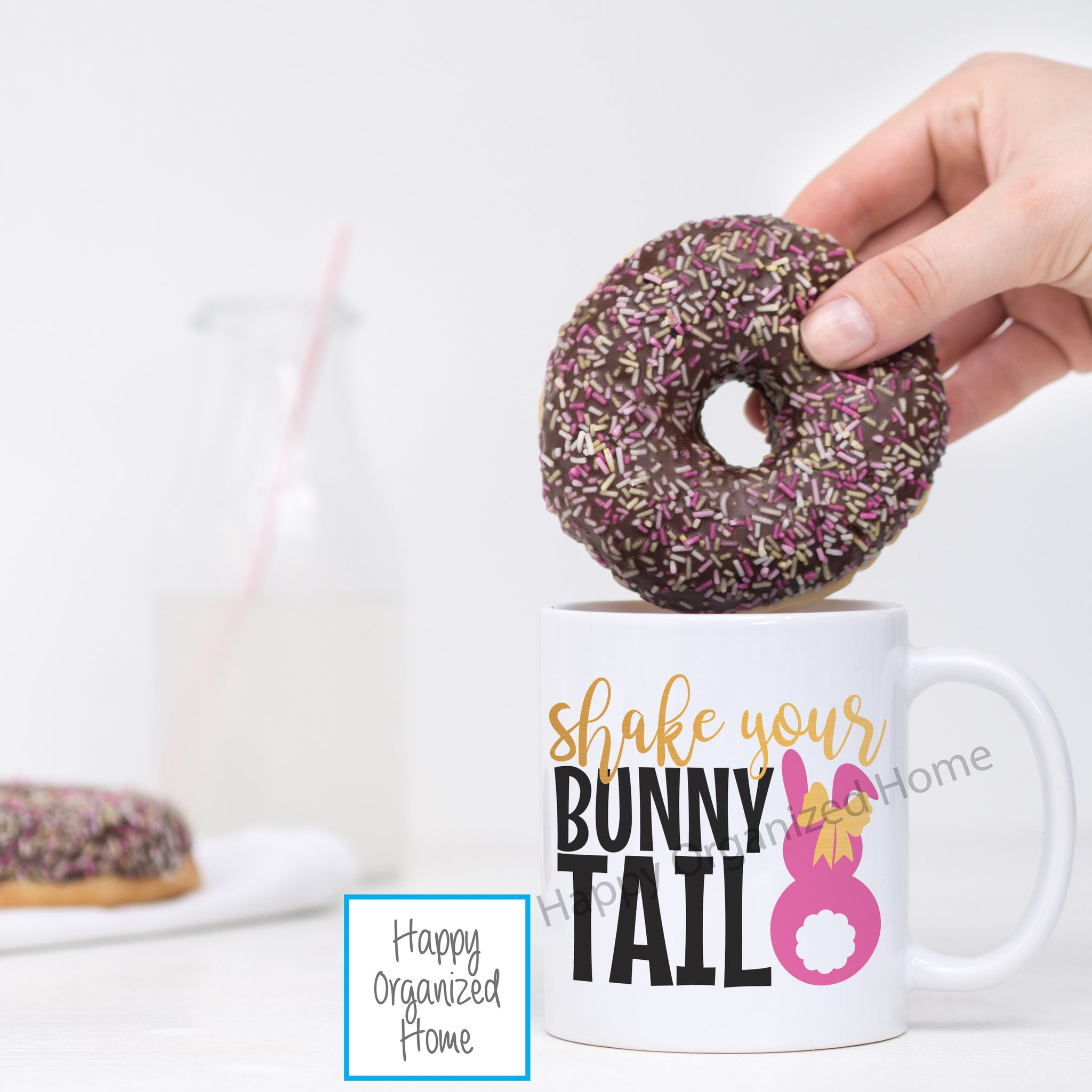 Shake Your Bunny Tail - Printed Easter Mug