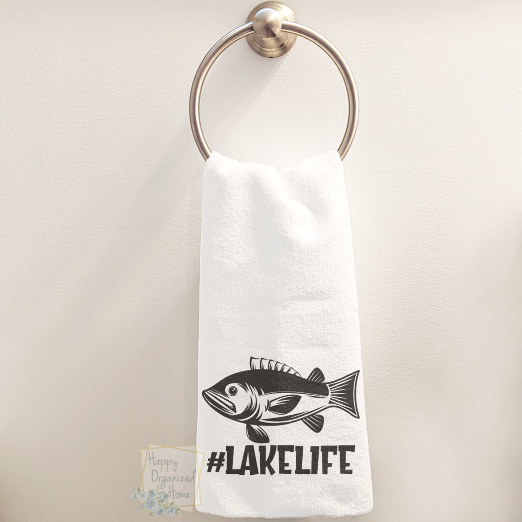 Lake Life - Hand Towel