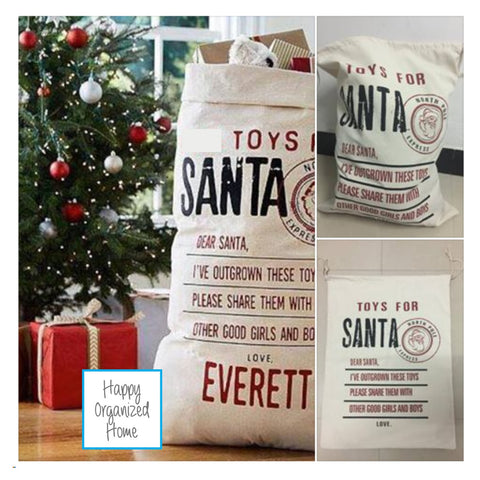 Toys for Santa - Santa Sacks