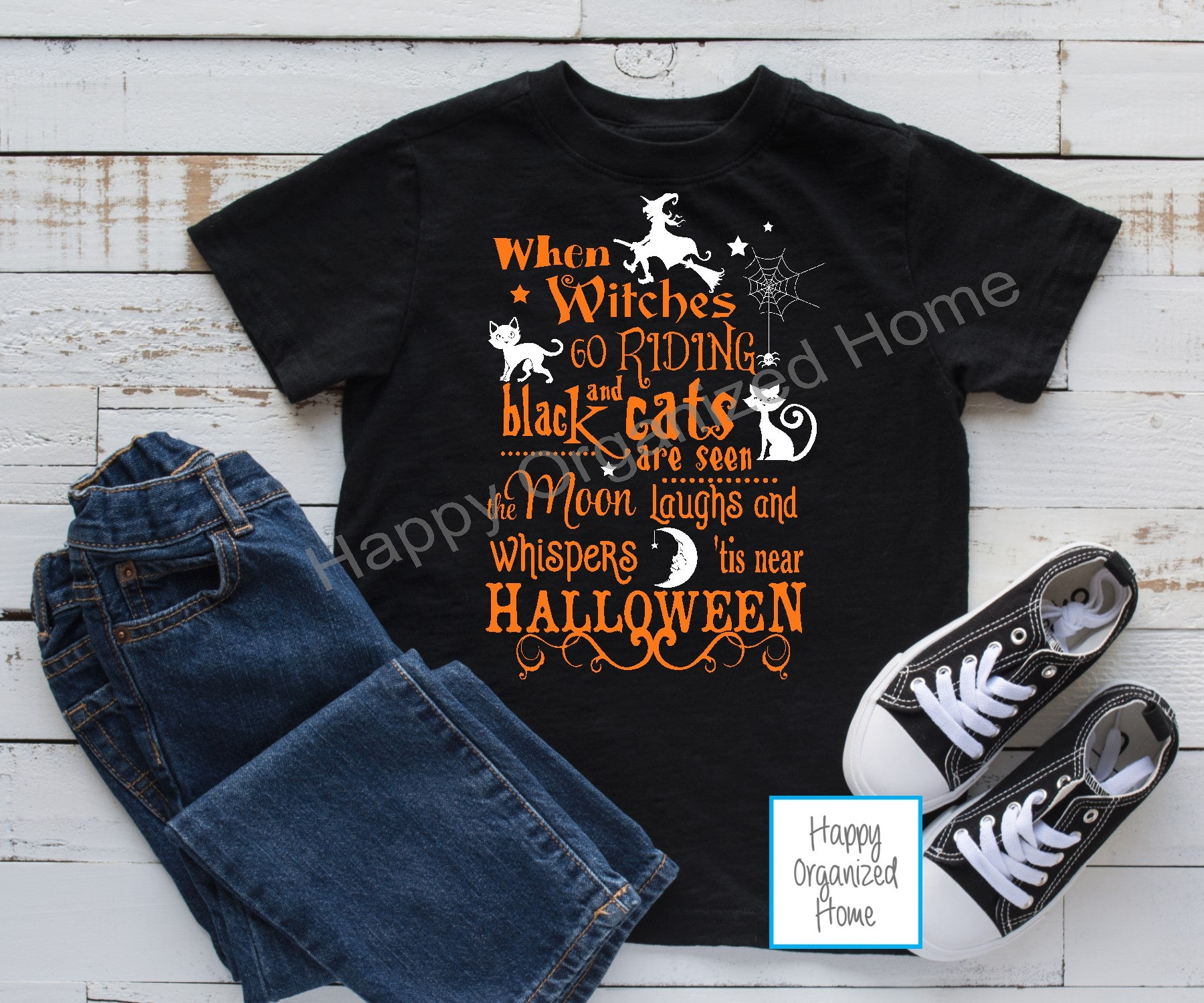 When Witches go riding - Kids tshirt