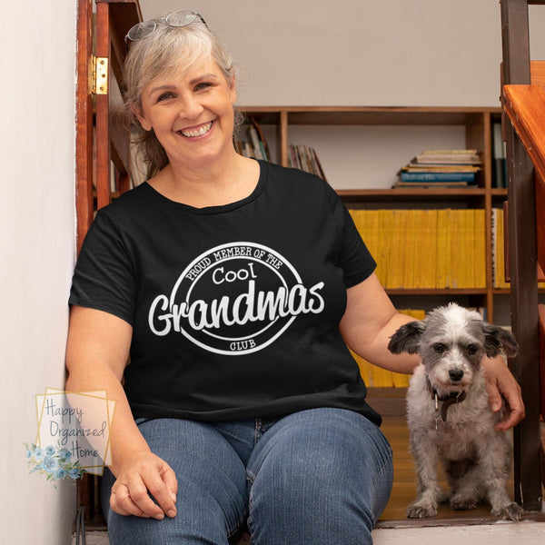 Proud Member of the Cool Grandmas Club - Unisex Apparel