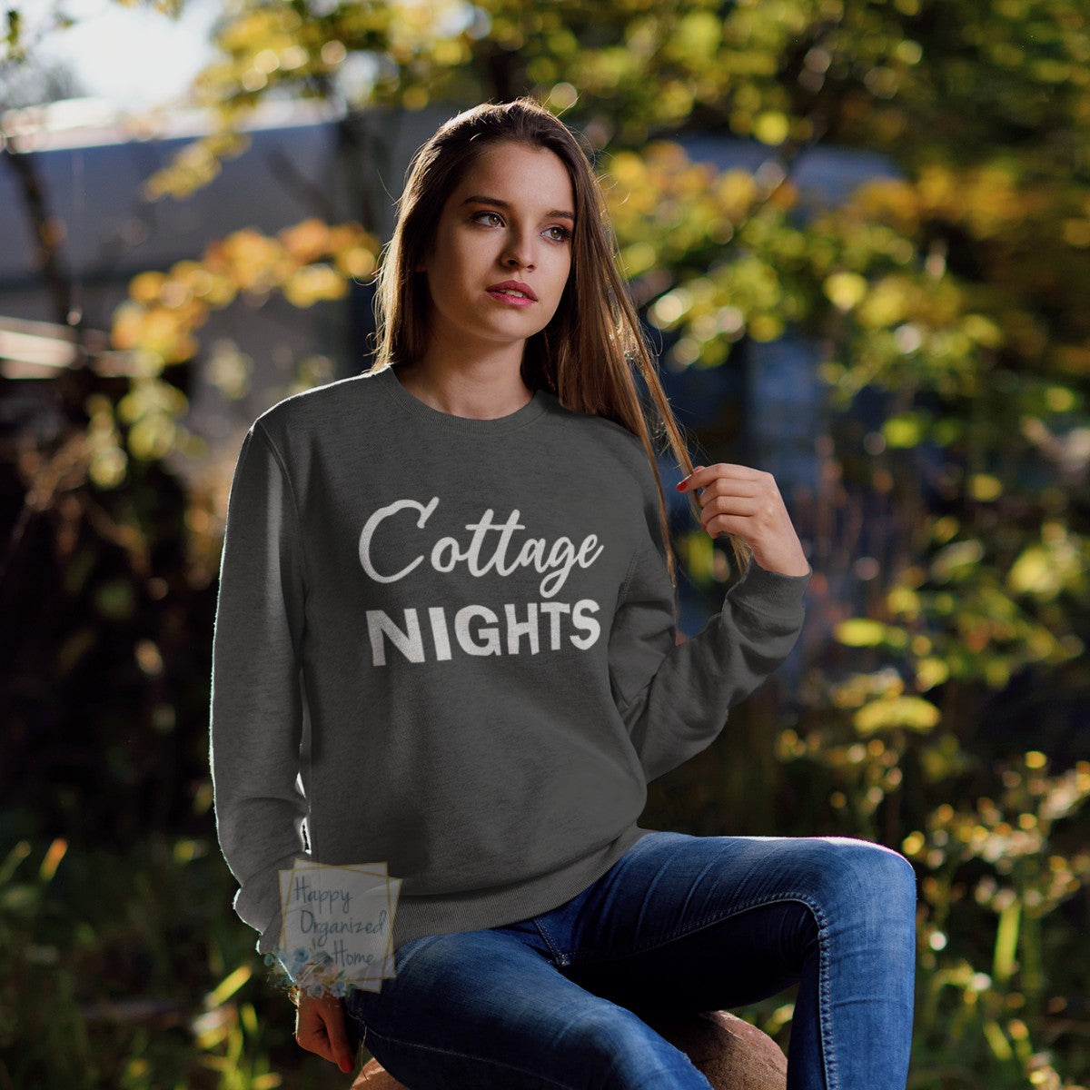 Cottage Nights - comfy unisex sweatshirt