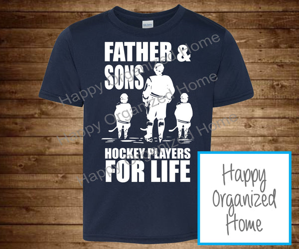 Father and Sons, Hockey players for life