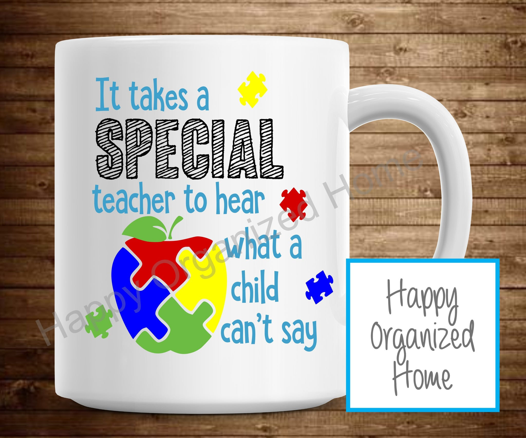 It takes a Special teacher to hear what a child can't say