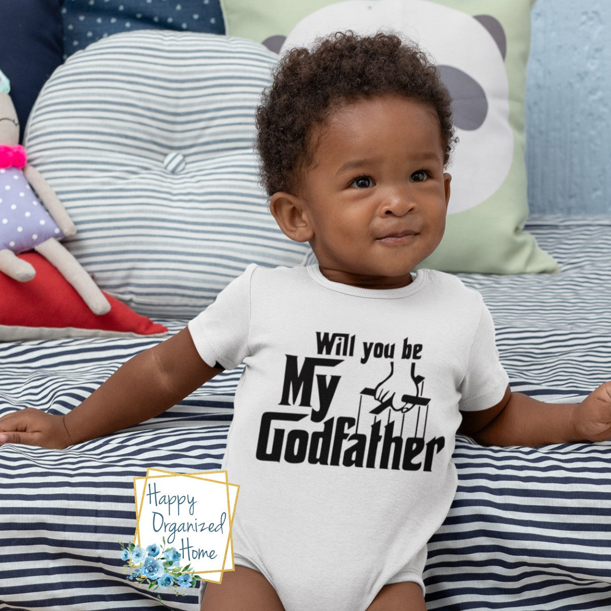 Will you be my Godfather - Infant Bodysuit