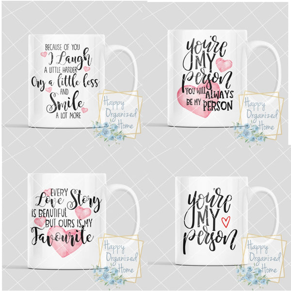 Couple on a Beach - Personalized Mugs and Tumblers