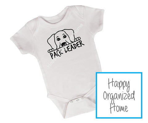 Pack Leader - Pet Sibling Bodysuit