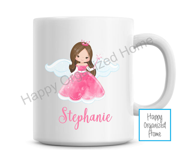 Fairy Princess Personalized Kids Unbreakable mug