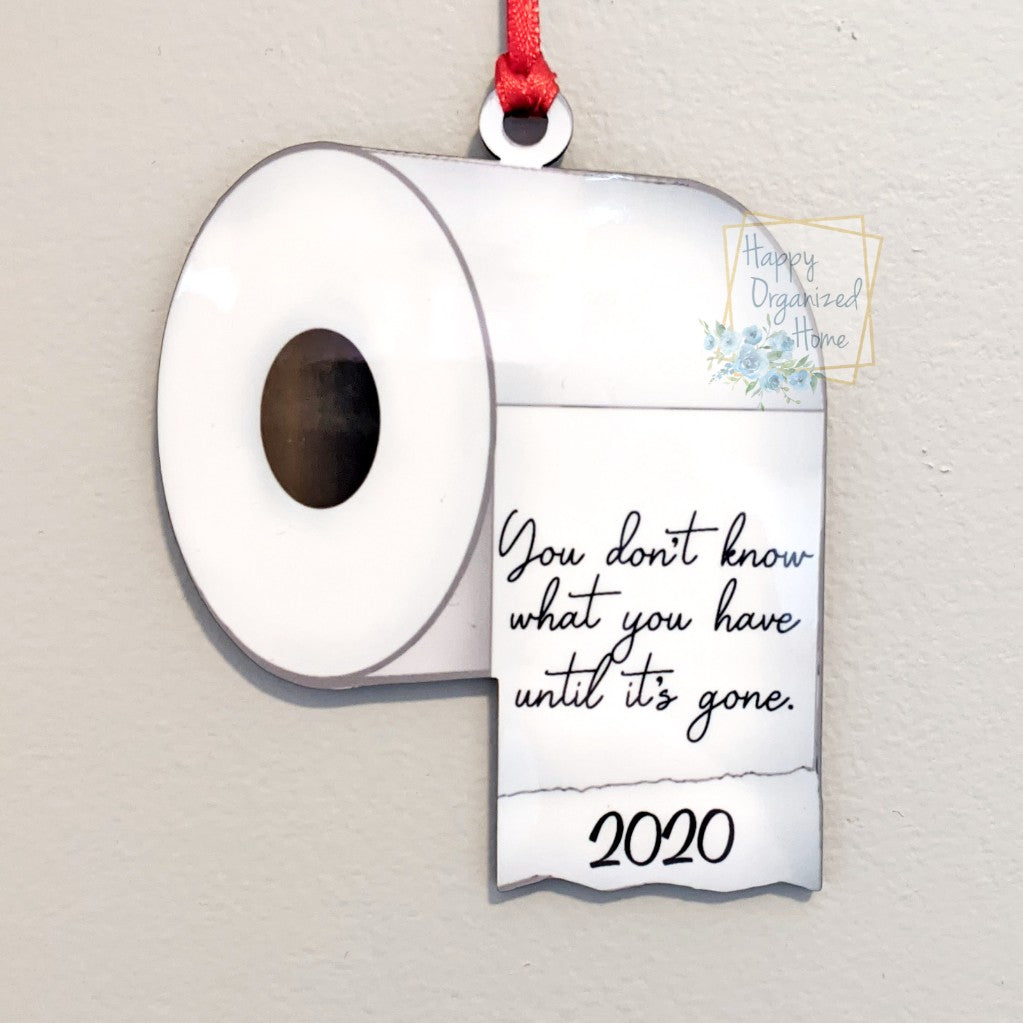 You don't know what you hace until it's gone. Christmas Ornament