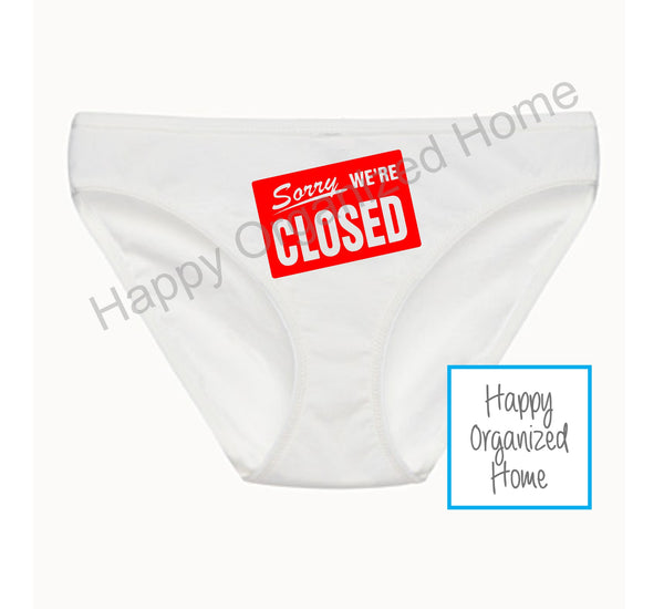 Sorry we're closed - Ladies Bikini Panties