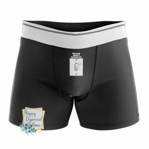 Oh Look what's turned on - Men's Naughty Boxer Briefs