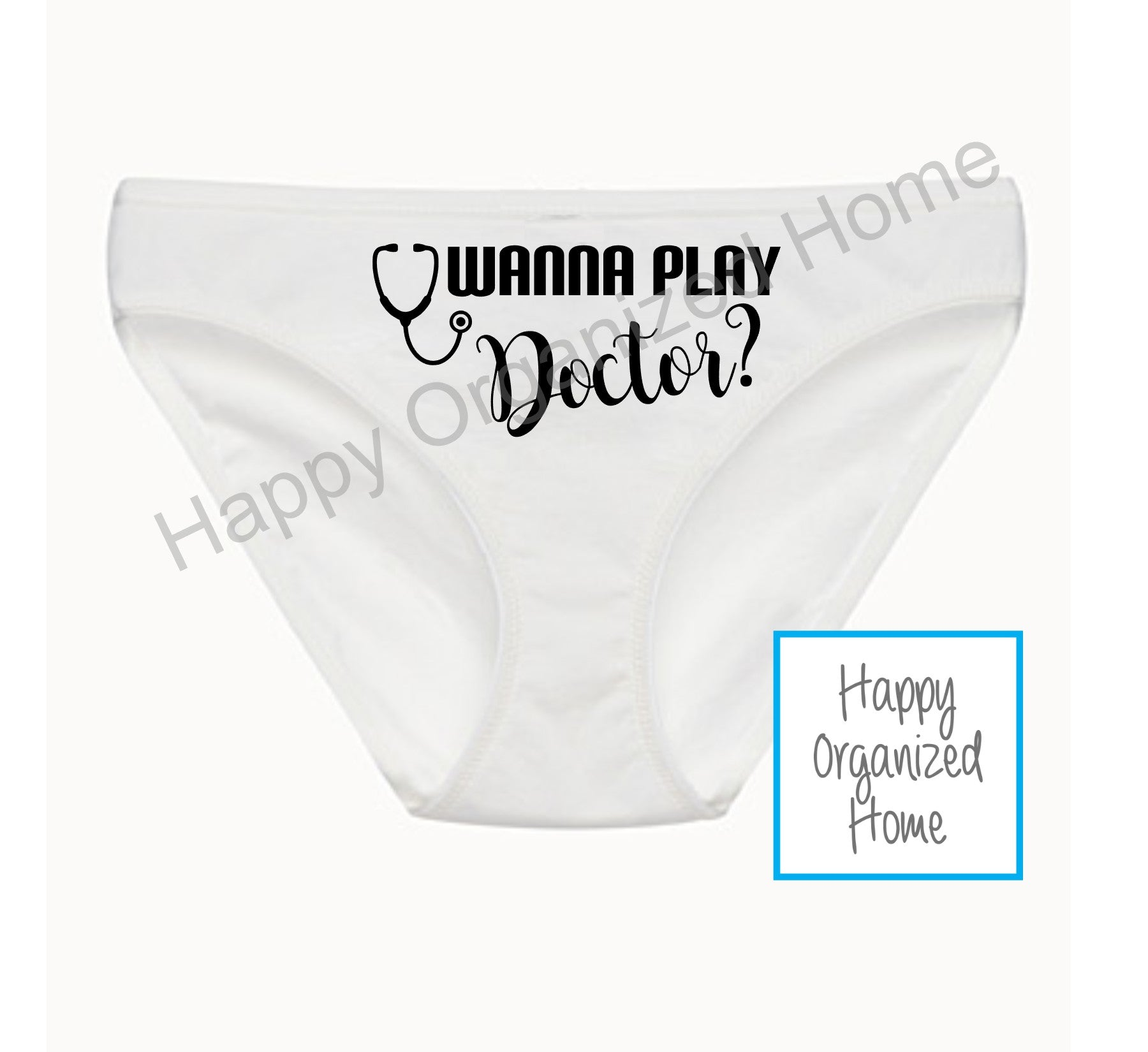 Wanna Play Doctor? - Ladies Bikini Panties