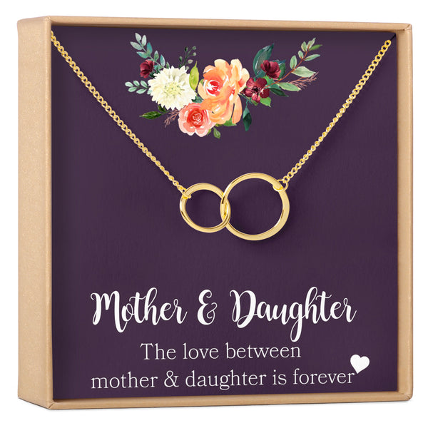 Mother & Daughter Necklace - Dear Ava, Jewelry / Necklaces / Pendants