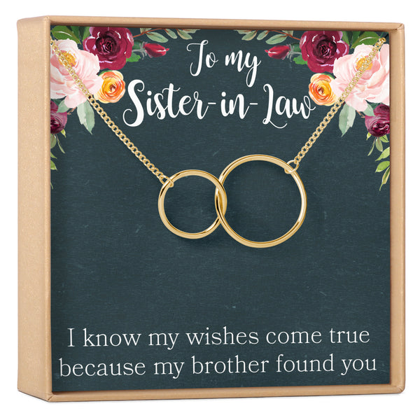 Sister-In-Law Necklace - Dear Ava