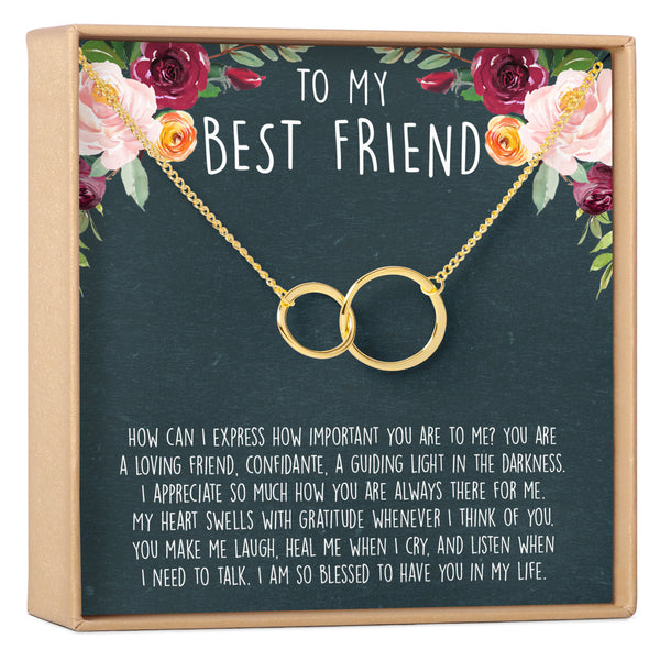 Best Friends Necklace - Dear Ava, Jewelry / Necklaces / Pendants