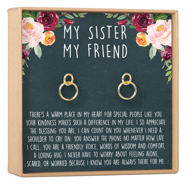 Sisters Earrings - Dear Ava