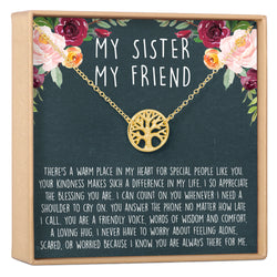 Sisters Necklace Sister Gift For Birthday