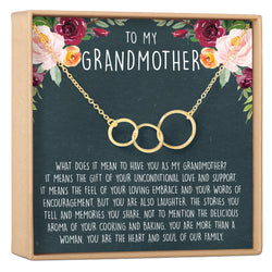Grandmother Necklace - Dear Ava, Jewelry / Necklaces / Pendants