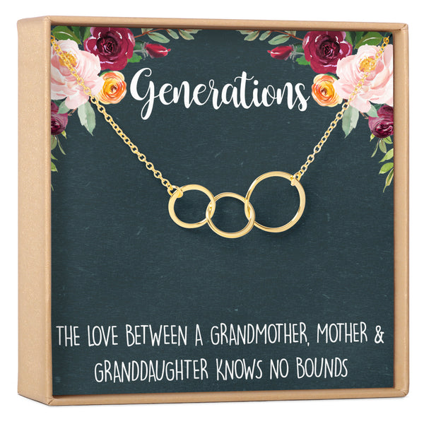 Generations Necklace - Dear Ava, Jewelry / Necklaces / Pendants