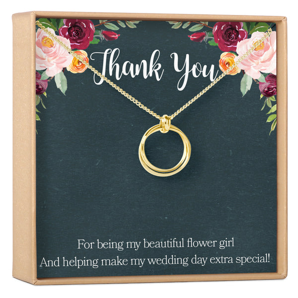Flower Girl Necklace - Dear Ava, Jewelry / Necklaces / Pendants