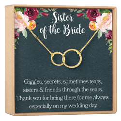 Sister of the Bride Necklace - Dear Ava