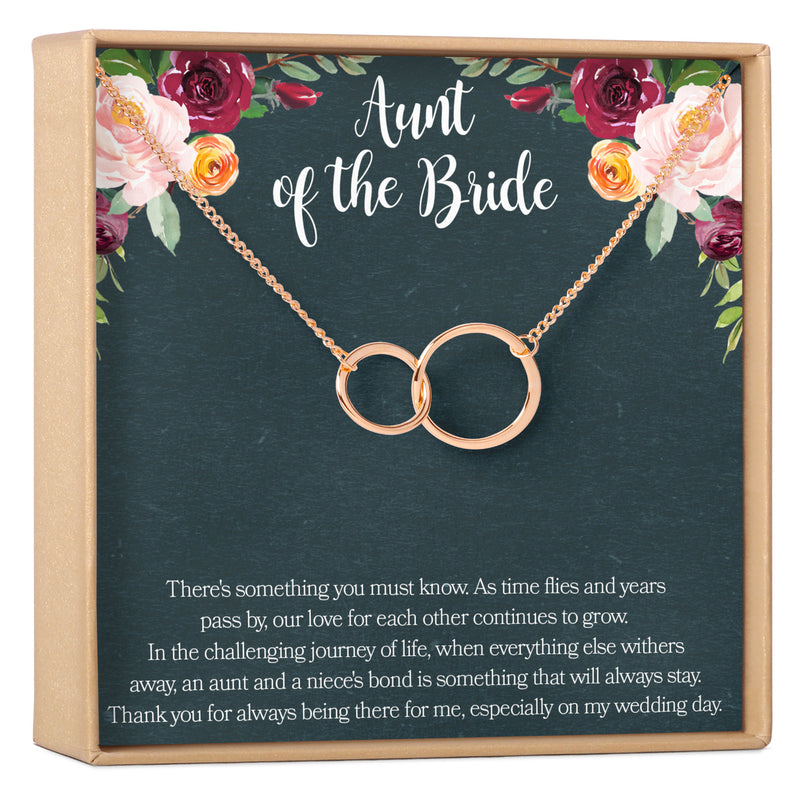 Aunt of the Bride Necklace - Dear Ava, Jewelry / Necklaces / Pendants