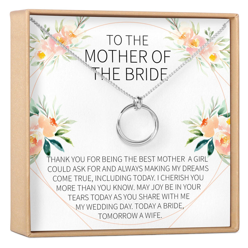 Mother of the Bride Necklace - Dear Ava, Jewelry / Necklaces / Pendants