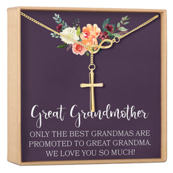Great Grandmother Gift Necklace