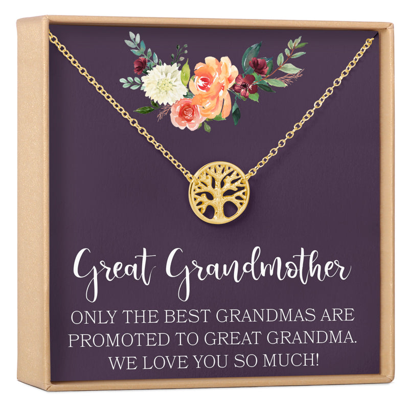 Great Grandmother Gift Necklace - Dear Ava, Jewelry / Necklaces / Pendants