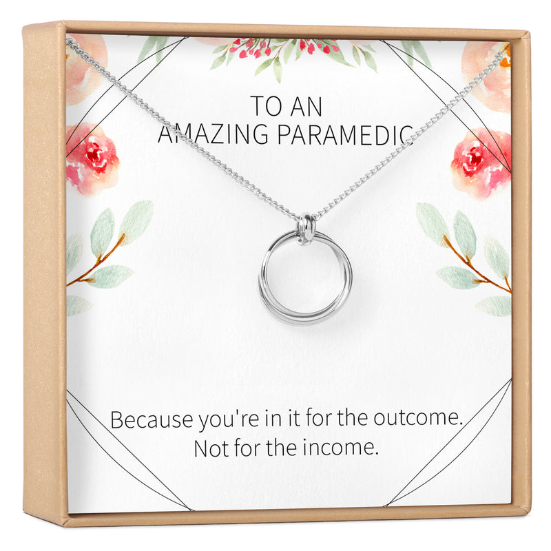 Paramedic / EMT Gift Necklace - Dear Ava