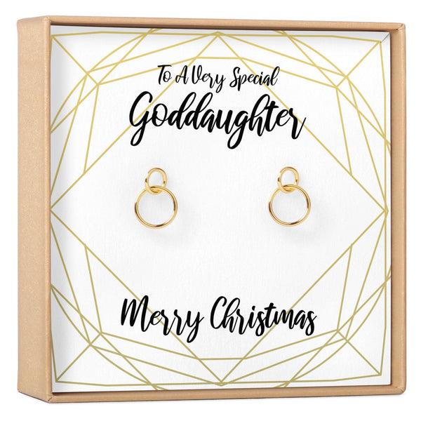 Christmas Gift for Goddaughter Earrings - Dear Ava, Jewelry / Earrings