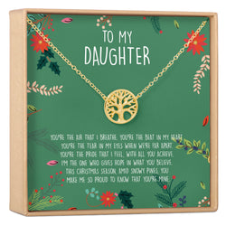 Christmas Gift for Daughter Necklace - Dear Ava, Jewelry / Necklaces / Pendants