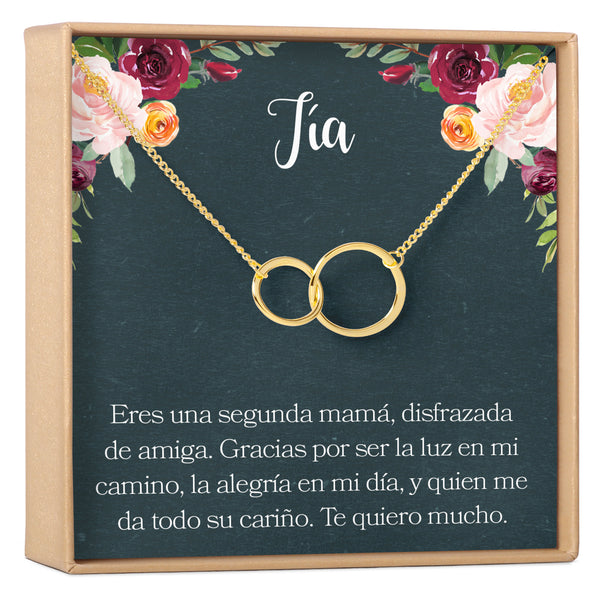 Collar Regalo Para Tia - Dear Ava, Jewelry / Necklaces / Pendants