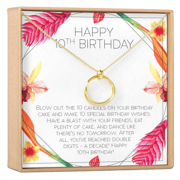 10th Birthday Gift for Girls - Dear Ava, Jewelry / Necklaces / Pendants