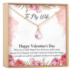 Valentine's Day Gift for Wife Necklace