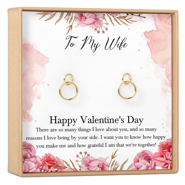 Valentine's Day Gift for Wife Earrings