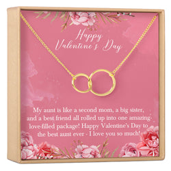 Valentine's Day Gift for Aunt Necklace