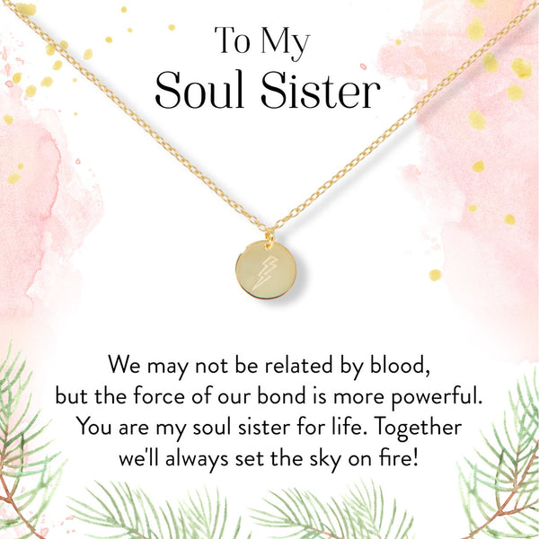 Soul Sister Lightning Necklace