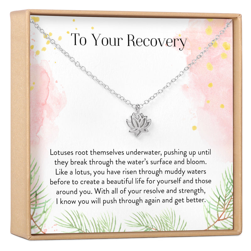 Recovery Lotus Necklace