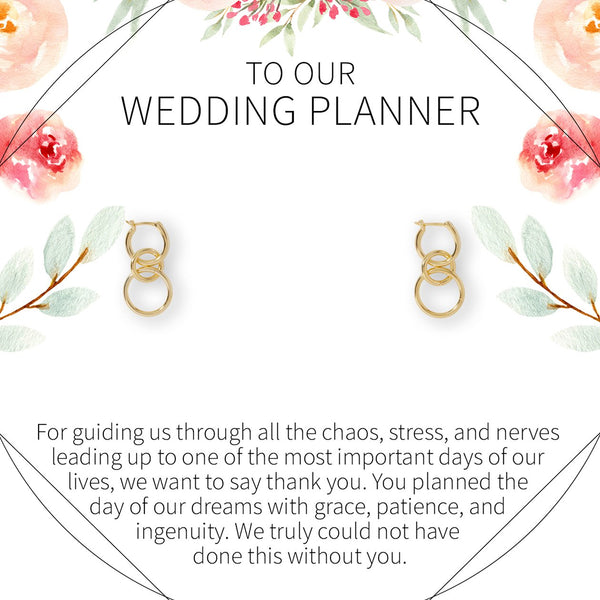 Wedding Planner Earrings