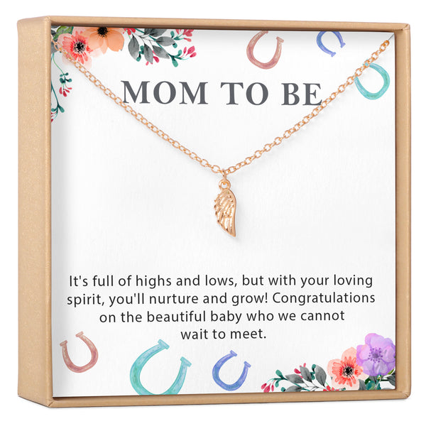 Mom to Be Necklace