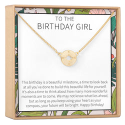 Birthday Gift Necklace Happy For Her