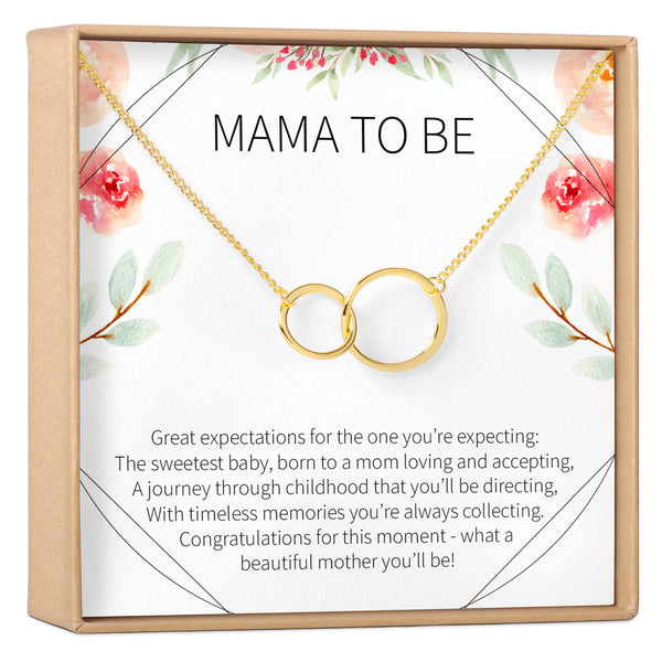 Expecting Mom Gift Necklace