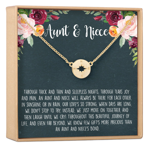 Aunt-Niece Necklace - Dear Ava, Jewelry / Necklaces / Pendants