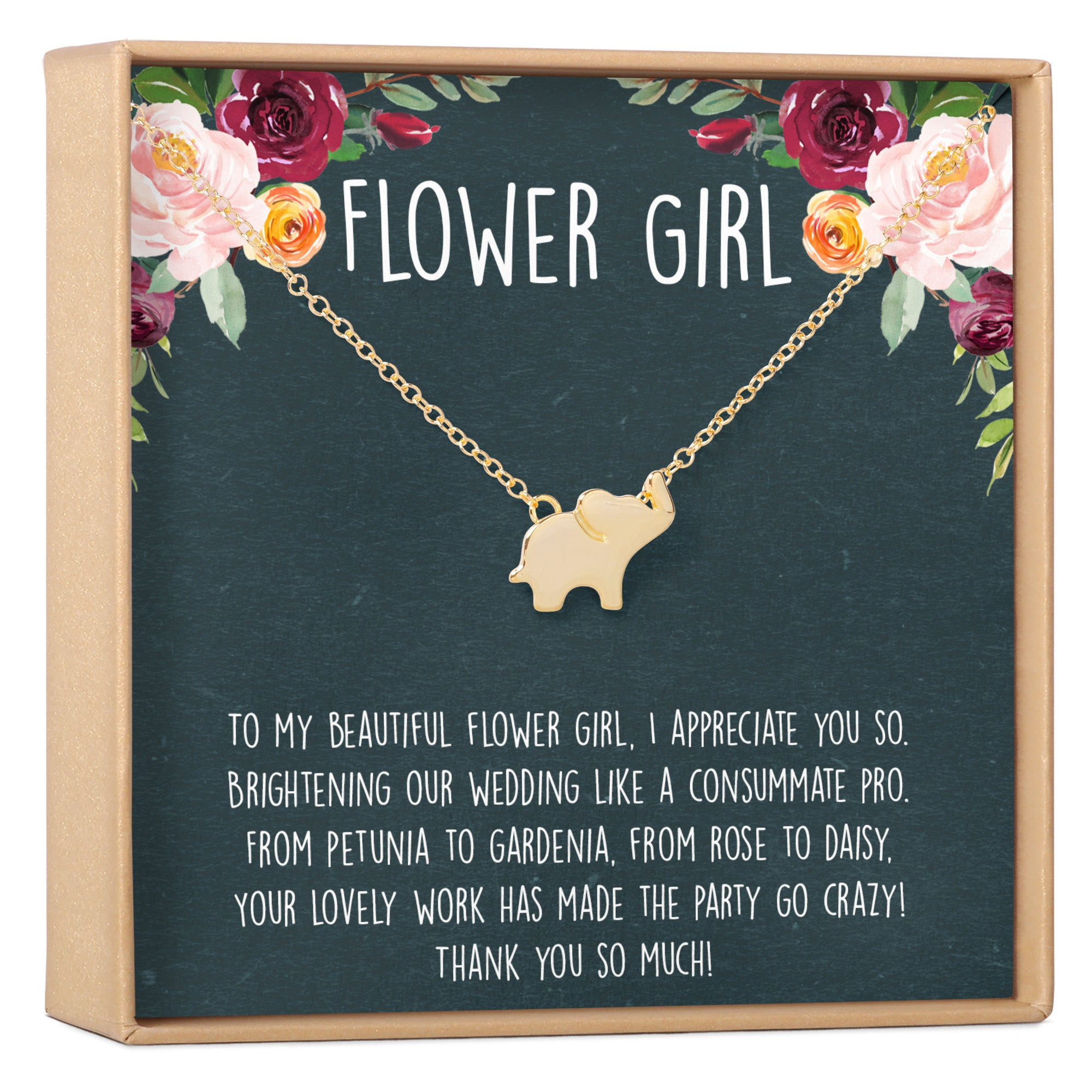 Bridal Jewelry Bridesmaids Gifts 602 Wedding Flower Girl Trio Orchid Flower Necklace
