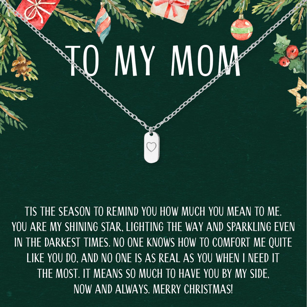 Christmas Gift For Mom Present Necklace Jewelry Xmas Gift
