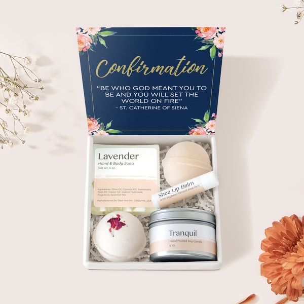 Confirmation Spa Gift Box