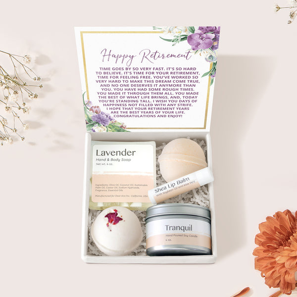 Retirement Spa Gift Box