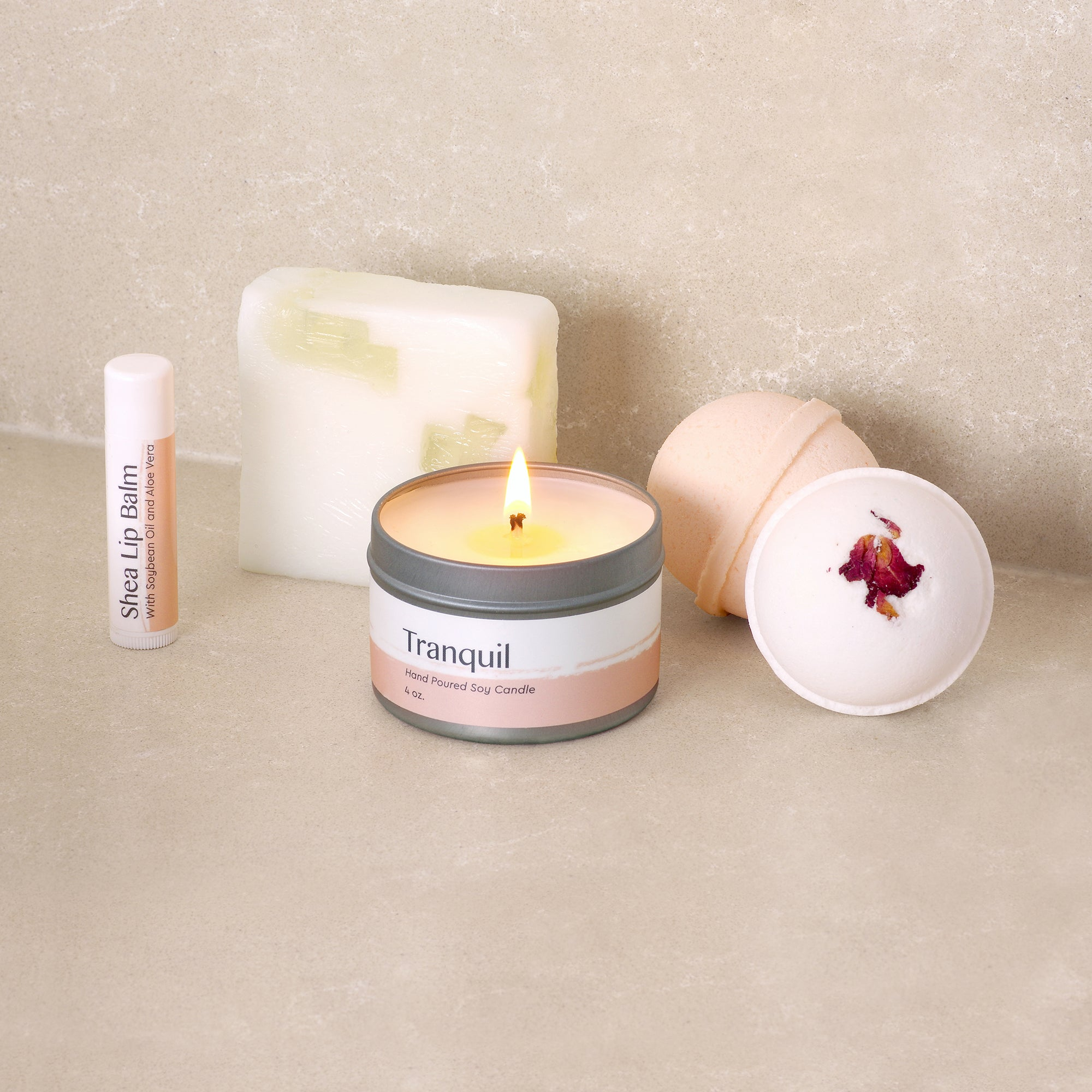 Vegan Soy Candle Essential Oil Candle Aesthetic Candle Minimalist ...