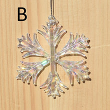 House of Marbles Glass Ornaments Icicles, SnowStar, Snowflakes & Candy Canes!